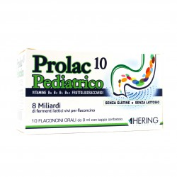 PROLAC10 PEDIATRICO FERMENTI LATTICI 10 FLACONCINI 8 ML