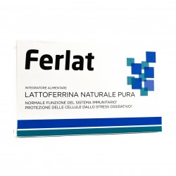 LATTOFERRINA NATURALE PURA 40 COMPRESSE FERLAT
